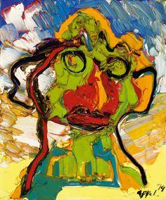 APPEL Karel (Dutch 1921-2006)  COBRA ART MOVEMENT-