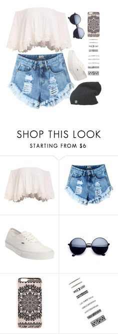 """""""Boho"""" by josie-posie ❤ liked on Polyvore featuring Vans, New Look and Forever 21"""