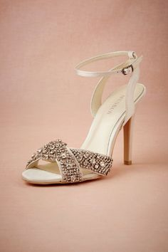 Crystalline Heels in Shoes & Accessories Shoes at BHLDN
