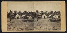 Headquarters at Morris Island of Lt. Col. Hall, provost marshall general of the Department of the South