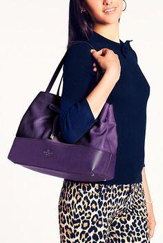 Beautiful purple kate spade purse http://rstyle.me/n/fbe93nyg6
