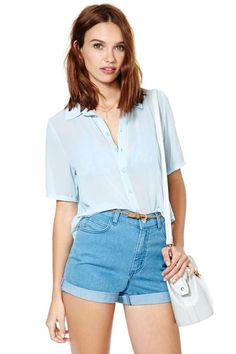 Blouses + Shirts | Shop Blouses, Shirts & Peplum Tops At Nasty Gal