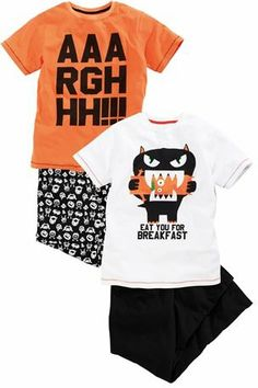 Buy Fluro Monster Pyjamas Two Pack (3-16yrs) from the Next UK online shop