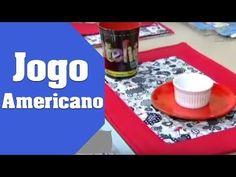 Como Fazer Jogo Americano   Ana Cosentino - YouTube
