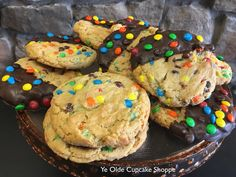 m&m® cookies : dipped or undipped in chocolate.
