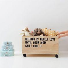 Mom? Have you seen my teddybear?