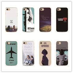 American TV Greys Anatomy phone case for iPhone 7 plus 4 4s 5 5s 5c se 6 6s iPhone7 for Samsung S5 S4 S6 S7 edge 6 s 5 s cover