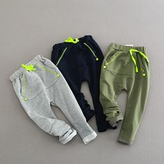 SQBCMW 2019 hot sale Kids Spring Autumn Clothes Children Harem Pants for boys trousers Girls solid pants Baby Boy Fashion, Toddler Fashion, Kids Fashion, Girls Clothing Stores, Boys Clothes Style, Autumn Clothes, Boys Pants, Fashion Pants, Boy Outfits