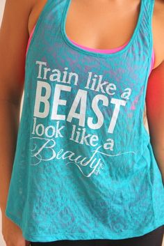 I NEED THIS TOP @Megan Maxwell S !!! But I need an XL, I think, and they don't have it... Train Like a BEAST Look Like a BEAUTY in Jade