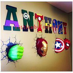 Letras de superhéroe en 11 superhéroes letras Letras de