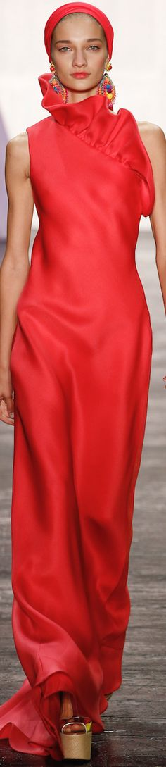NAEEM KHAN SPRING 2016 RTW women fashion outfit clothing style apparel @roressclothes closet ideas