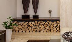 Storing Firewood Indoors | Store Firewood with Style