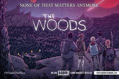 #BOOMStudios' popular comic book series #TheWoods, from creators #JamesTynionIV and #MichaelDialynas, will be brought on-board to #Syfy.