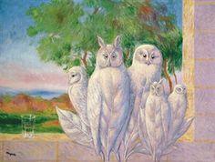 Image à la fenêtre By René Magritte