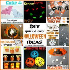 DIY quick & easy Halloween Ideas