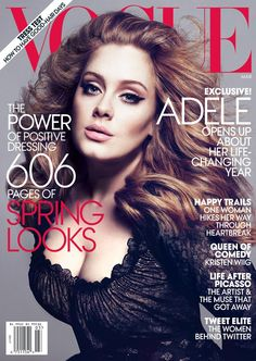 Adele is stunning in Michael Kors on the cover of March VOGUE. What's your take on her timeless look?