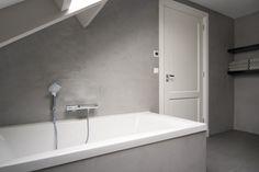 Pandomo badkamer # voorbeelden werk stukadoorsbedrijf H. Keijzer # betonlook