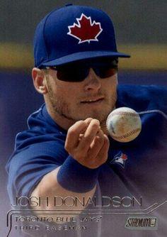 Josh Donaldson / Toronto Blue Jays Blue Jay Way, Josh Donaldson, Toronto Blue Jays, Bowling, Softball, My Boys, Mlb, Rain, Canada