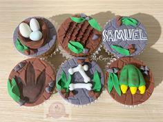 Dinosaur Birthday Cakes, 5th Birthday, Birthday Party Themes, Jurassic World, Jurassic Park, Cupcakes, Grill Accessories, Cupcake Ideas, Mayo