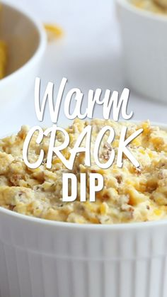 Warm Crack Dip – The ORIGINAL recipe! Sour cream dip loaded with cheddar, bacon… Warm Crack Dip – The ORIGINAL recipe! Sour cream dip loaded with cheddar, bacon and ranch dip – this stuff is SO addicting! This is always the first thing to go at a party! Ranch Dip, Tasty Videos, Food Videos, Recipe Videos, Keto Recipes, Cooking Recipes, Easy Dip Recipes, Chip Dip Recipes, Recipes For Dips