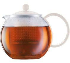 Buy Bodum Assam Tea Press - White at Argos.co.uk, visit Argos.co.uk to shop online for Teapots and cafetieres, Tableware, Cooking, dining and kitchen equipment, Home and garden