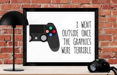geekery poster gift video game artwork video game room