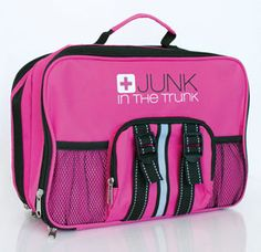 hermergency Junk In The Trunk Pink jumper cables and more!! www.mydamselpro/PRO2417