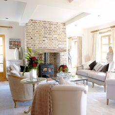Winter snug | Step inside this Surrey barn conversion | housetohome.co.uk