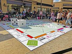 Visited the @outletsoflr during their 1-year anniversary celebration, which included prize giveaways while playing a giant Monopoly game. The Outlets was designed by HFA's Boston team and features level, covered walkways and plenty of outdoor seating to relax or people-watch. Stop by and see it sometime! It's located off Interstate 30 next to Bass Pro Shop.