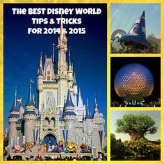 Disney World Tips & Tricks for 2015 Vacations - When to go, where to stay, how to save time & money, and hundreds of other tips to have a perfect vacation!