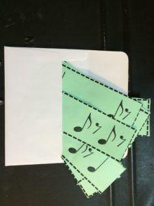Rhythm Envelope Game - Teaching Beginning Band with Games - Band Directors Talk Shop