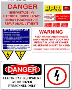 ghostbusters ghost trap decals - Google Search