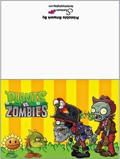 Plantas vs Zombies.