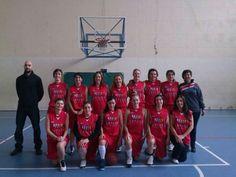 Equipo femenino de baloncesto Senso ya en su temporada 2013-14