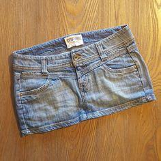ZARA denim skirt ZARA - TRF collection. Cute denim mini skirt, no tear, no stain, like new Zara Skirts Mini