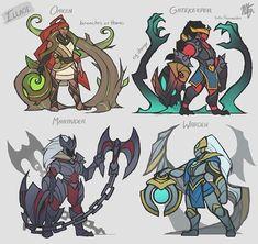 Illaoi skin concepts!