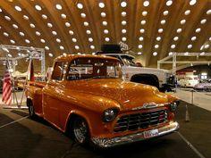 57er Chevy Pickup    International Modified & Custom Carshow, Nekkerhal, Mechelen, B