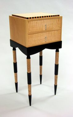 Custom Made Egypt, has hard contrasting colors and thin tall legs imitating the Egytian style. Made in Edinboro, PA by Cosmo Barbaro Furniture Custom Made Furniture, Fine Furniture, Modern Furniture, Furniture Design, Egyptian Furniture, Egyptian Home Decor, Console Style, Ancient Egyptian Architecture, Modern Egypt