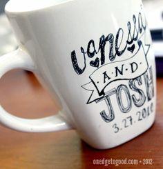 Sharpie Mug Test (Washing & Re-Testing)
