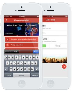 FREE - Web Based & Apps - QuizOperator - let's you easily create and share quizzes. You just have to choose the quiz name and fill in the quiz options.  Other people can join your quiz by going to a link or by searching for it. The score is tracked by the app and the winner will be calculated automatically. Perfect to use during your lesson, presentation, speech or at a party.