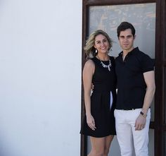 One Swainky Couple: West Texas Weekend: Marfa | Alice + Olivia | black and white outfit | couple blog