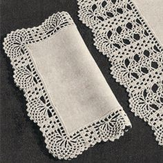 36 Awesome free crochet lace edging patterns images
