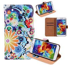 Samsung matkapuhelin - Samsung S5 I9600 - Kännykkäkuori - Erikois malli ( Multi-color , PU Leather ) – EUR € 11.99
