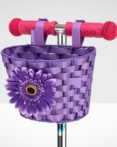 Scooter basket Purple| Micro Scooters UK