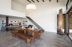 black rustic Kitchen Remodel Ideas W Island | Tags: sofa cushion. koh tao. thailand beach. tropical luxury. polished ...