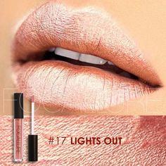 Metallic Peachy Rose Gold Lipstick **New Hot Lip Color**