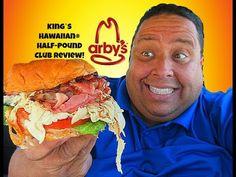 Arby's King's Hawaiian® Half-Pound Club REVIEW!