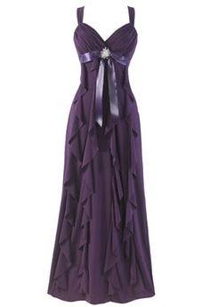Wedding, Dress, Purple, Bridesmaid, Plum, Eggplant