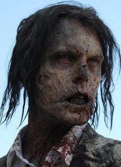 The Walking Dead Zombie Photo Gallery Walking Dead Tv Series, Walking Dead Zombies, Fear The Walking Dead, Monster Makeup, Zombie Makeup, Fx Makeup, Halloween Makeup, Makeup Ideas, Walk The Earth