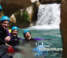 Deportes de Aventura -Barranquismo . Cañón de la Peonera - Sierra de Guara - Alquezar- Huesca